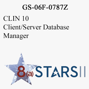 STARS II CLIN 10 Client Server Database Manager