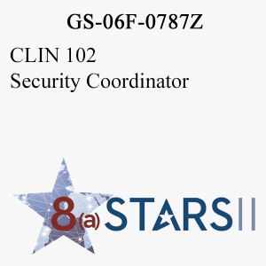 STARS II CLIN 102 Security Coordinator
