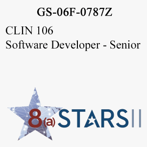 STARS II CLIN 106 Software Developer Sr