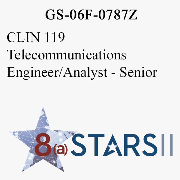 STARS II CLIN 119 Telecommunications Engineer Analyst Sr
