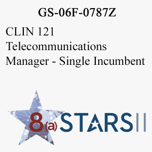 STARS II CLIN 121 Telecommunications Manager Single Inc