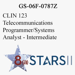 STARS II CLIN 123 Telecommunications Programmer Systems Analyst Int