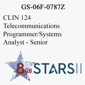 STARS II CLIN 124 Telecommunications Programmer Systems Analyst Sr