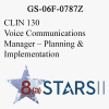 STARS II CLIN 130 Voice Communications Manager