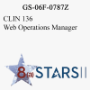 STARS II CLIN 136 Web Operations Manager