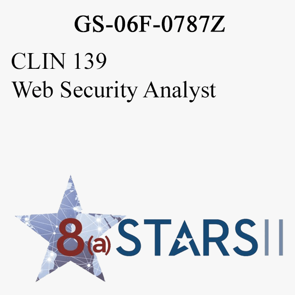 STARS II CLIN 139 Web Security Analyst