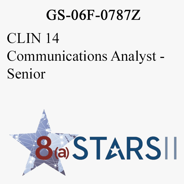 STARS II CLIN 14 Communications Analyst Sr