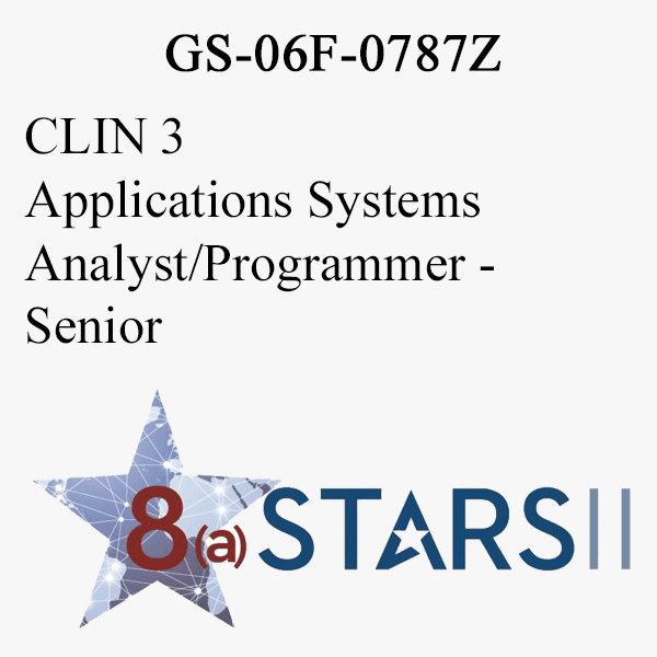 STARS II CLIN 3 Applications Systems Analyst Programmer Senior