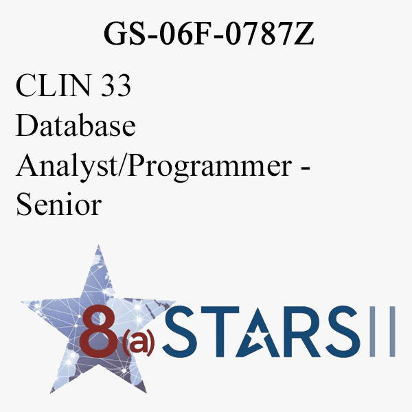 STARS II CLIN 33 Database Analyst Programmer Sr