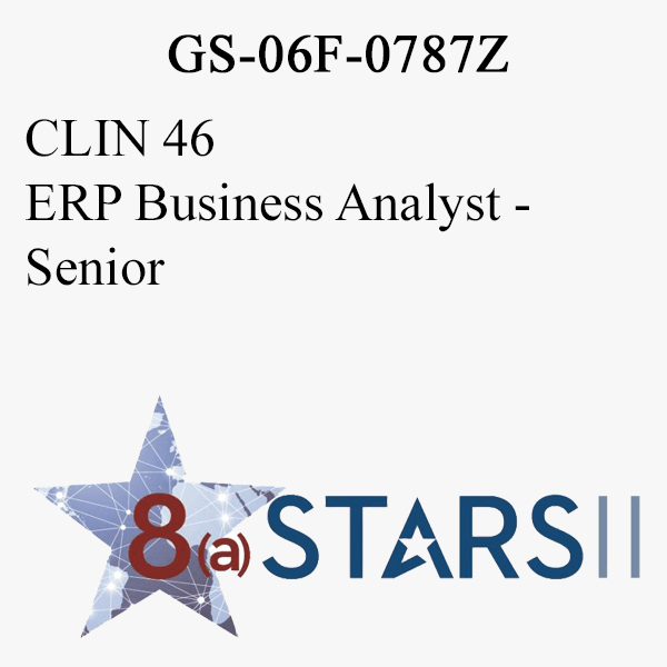 STARS II CLIN 46 ERP Business Analyst Sr