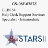 STARS II CLIN 54 Help Desk Support Services Specialist Int