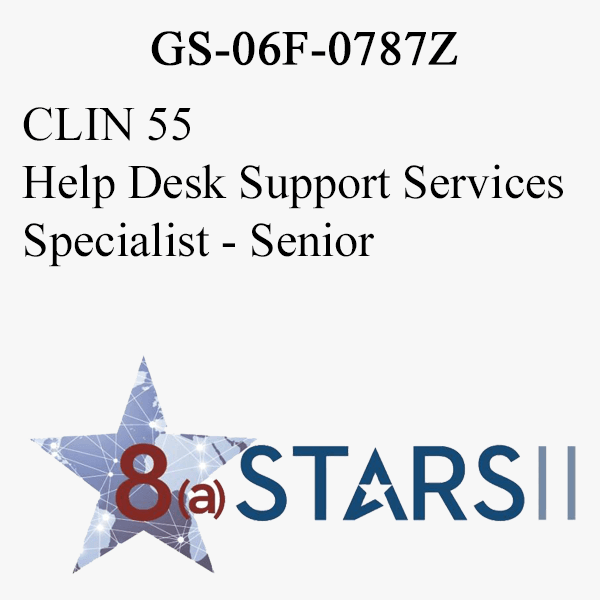 STARS II CLIN 55 Help Desk Support Services Specialist Sr