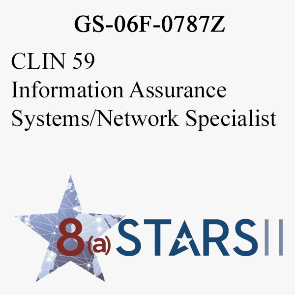 STARS II CLIN 59 Information Assurance Systems Network Specialist