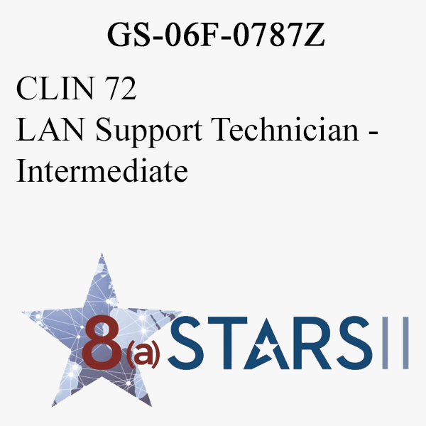 STARS II CLIN 72 LAN Support Technician Int