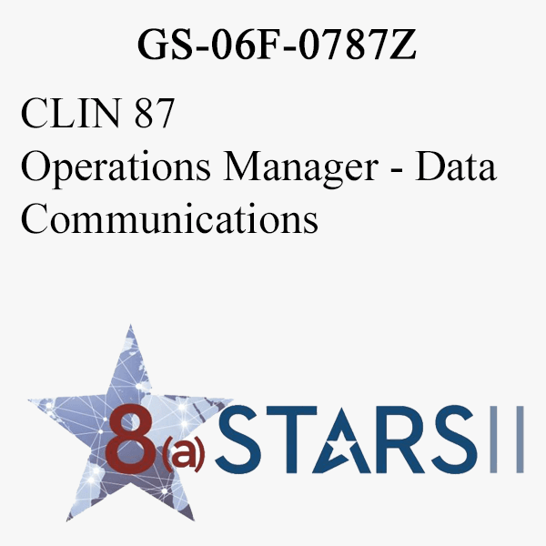 STARS II CLIN 87 Operations Manager Data Communications