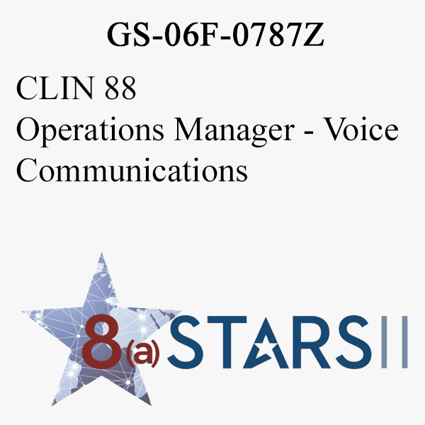 STARS II CLIN 88 Operations Manager Voice Communications