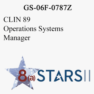 STARS II CLIN 89 Operations Systems Manager