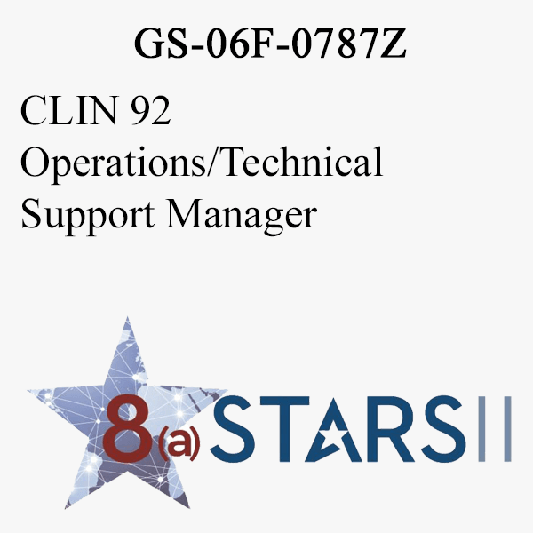 STARS II CLIN 92 Operations Technical Support Manager