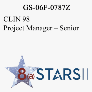 STARS II CLIN 98 Project Manager Sr